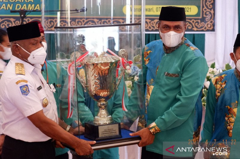 Gubernur Papua Barat buka STQH VIII dalam suasana pandemi COVID-19