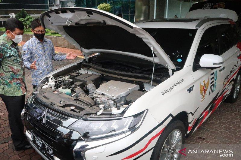 Kementerian BUMN pakai mobil listrik untuk kegiatan tangani pandemi