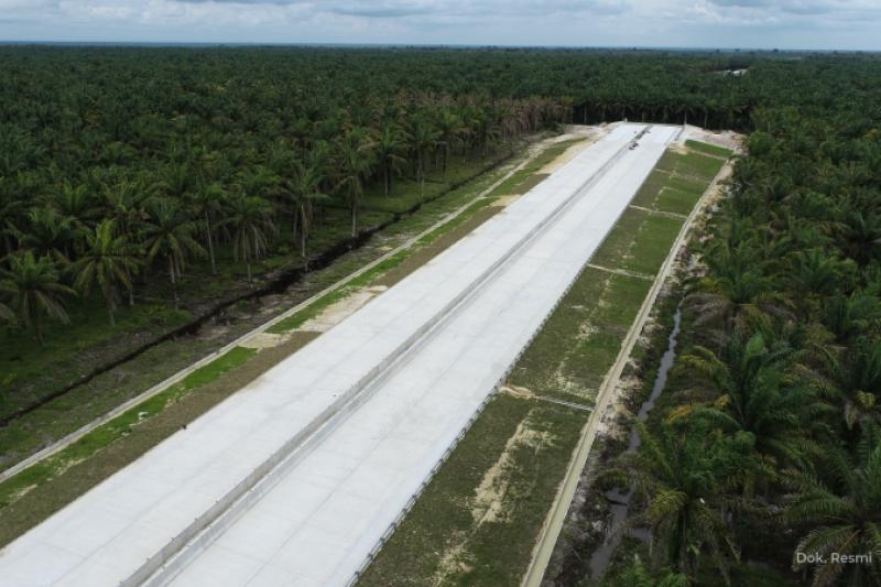 Legislator nilai progres Tol Pekanbaru-Bangkinang sesuai target