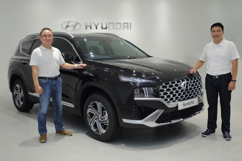 Hyundai New Santa Fe resmi mengaspal di Indonesia
