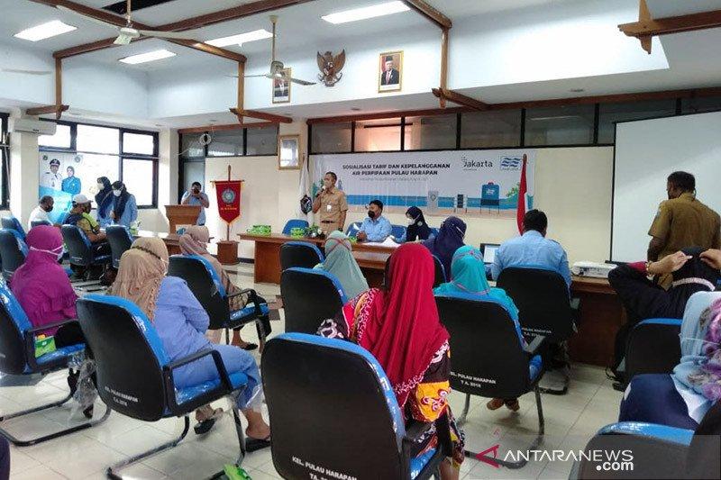 PAM Jaya sosialisasi pemberlakuan tarif baru untuk Kepulauan Seribu