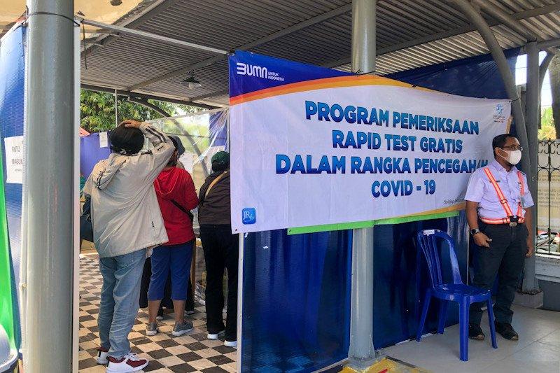 KAI : Tarif rapid test antigen di stasiun turun menjadi Rp85.000