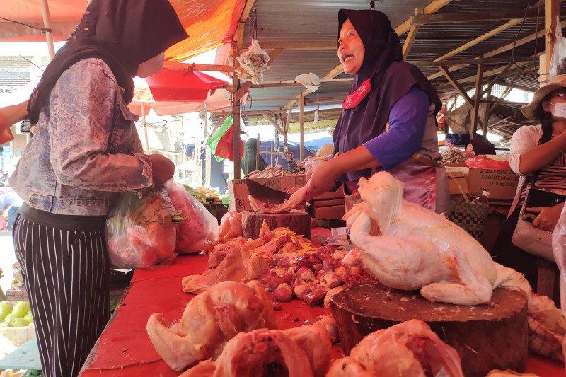 Harga daging ayam di Bengkulu naik jelang Ramadhan