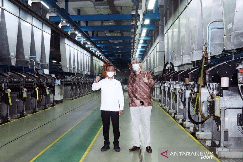 Bahlil resmikan perluasan pabrik Indorama senilai Rp510 miliar