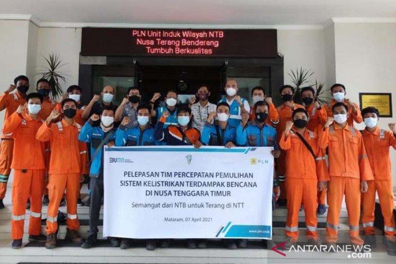 PLN NTB kirim personel ke NTT percepat pemulihan listrik