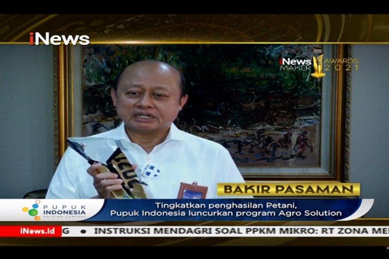 Program Agro Solution Pupuk Indonesia raih penghargaan inovasi terbaik