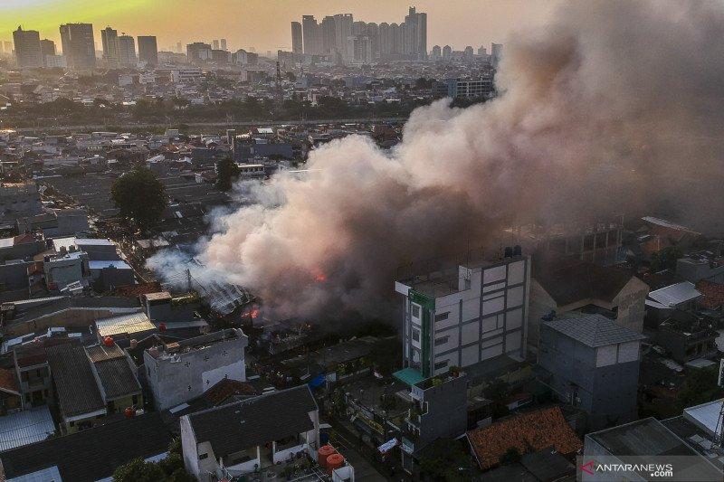 Kebakaran Pasar Kambing di Tanah Abang