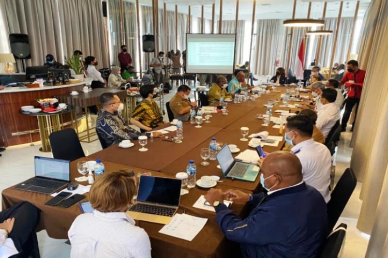 Kementerian-lembaga diminta dukung anggaran Inpres percepatan Papua