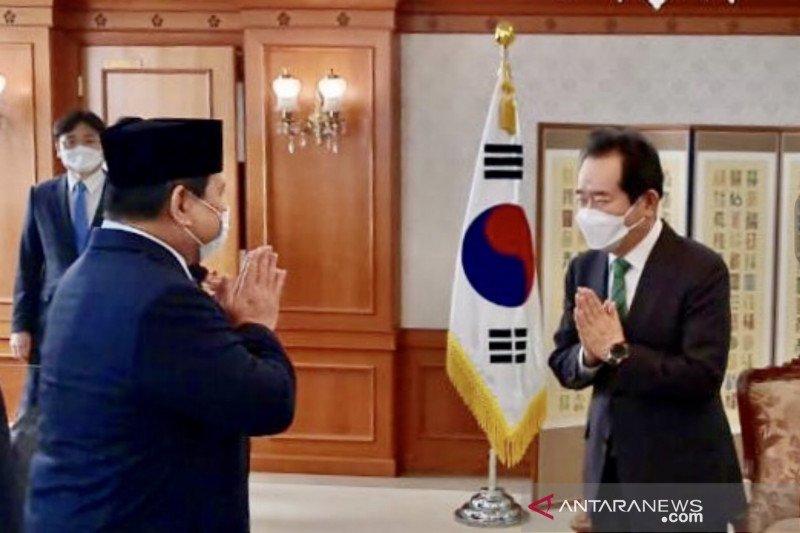 Prabowo harap Indonesia-Korsel perkuat kerja sama industri pertahanan