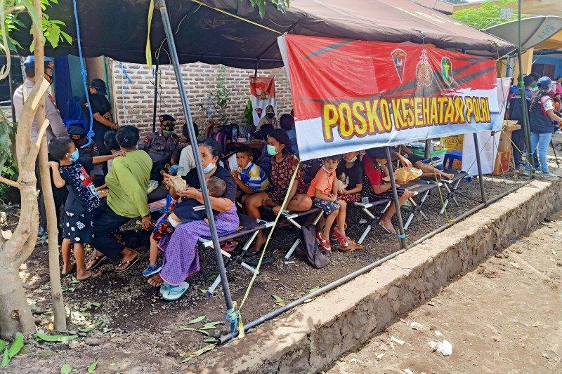 Akibat longsor, 1.105 penduduk Ile Boleng kehilangan tempat tinggal