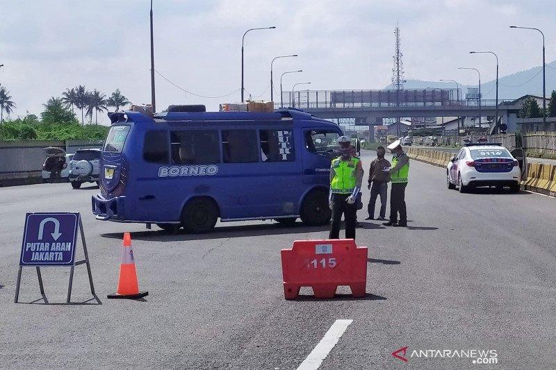Polresta Bandung mulai sosialisasikan larangan pulang kampung Lebaran
