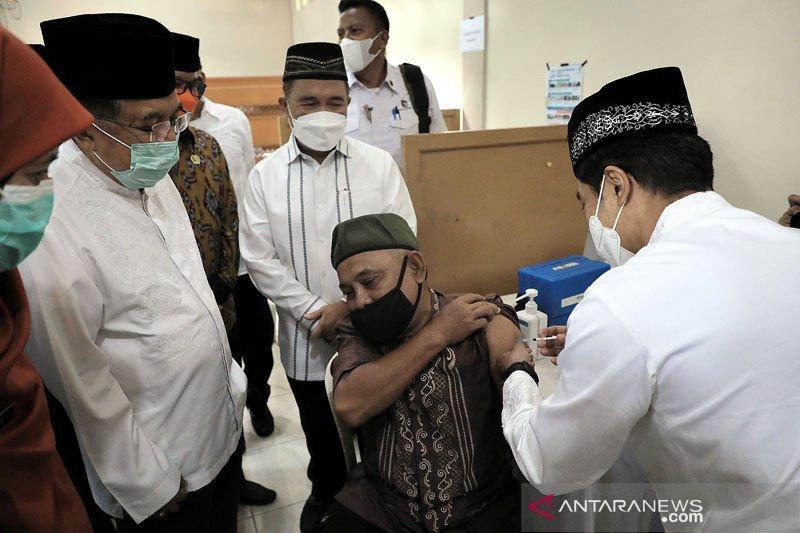 JK resmikan gerakan masjid jadi sentra vaksinasi