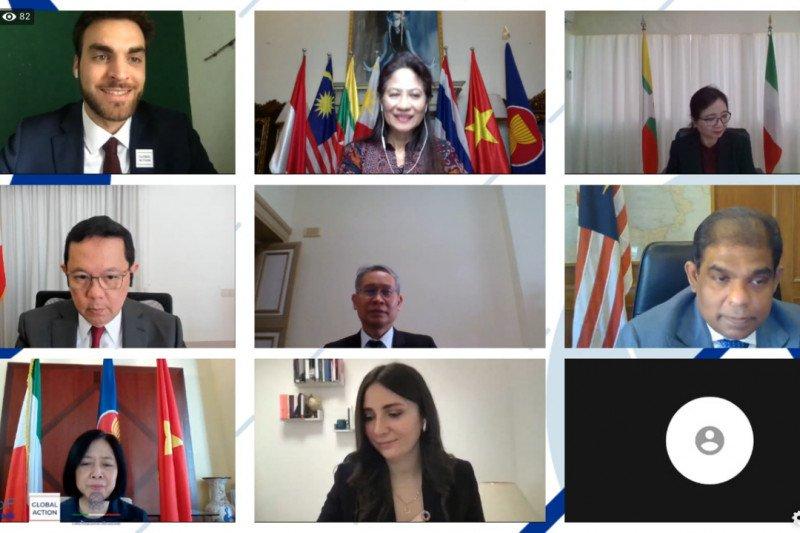 Indonesia dorong penguatan kerja sama pemuda ASEAN-Italia