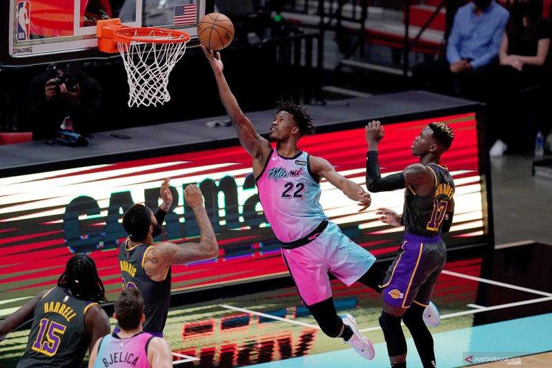 NBA: Heat kalahkan Lakers 110 - 104