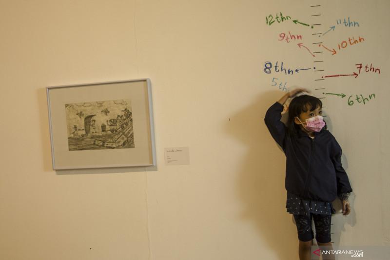 antarafoto pameran anak berani melukis 090421 na 3