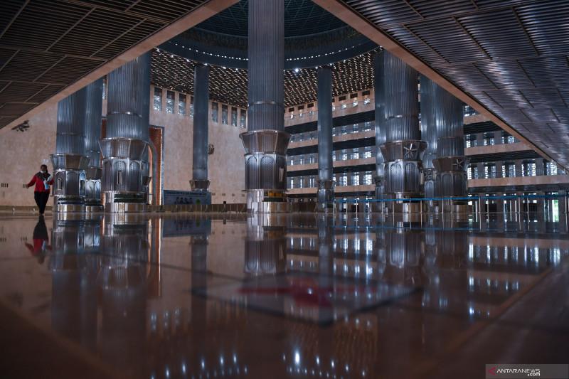 Masjid Istiqlal akan dibuka pada bulan Ramadhan