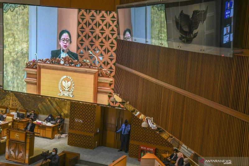 Rapat Paripurna DPR ke-16 Masa Sidang IV 2021