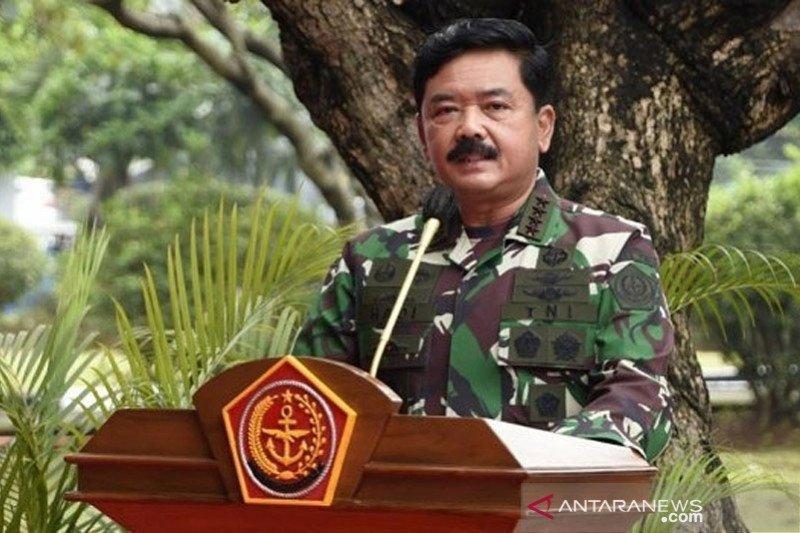 Panglima TNI minta Kopassus tingkatkan profesionalisme di HUT ke-69