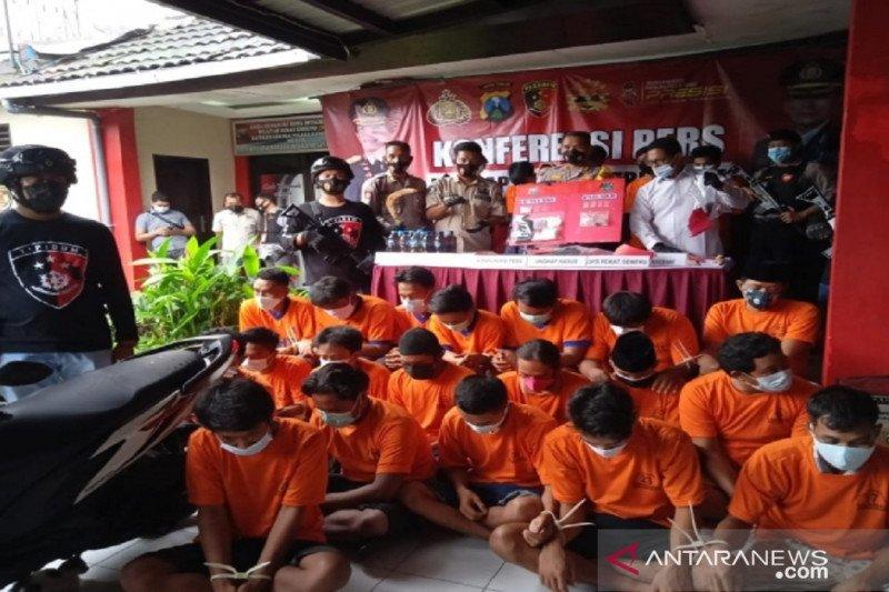 Operasi Pekat, polisi tangkap 288 pelaku kriminal di Pulau Madura