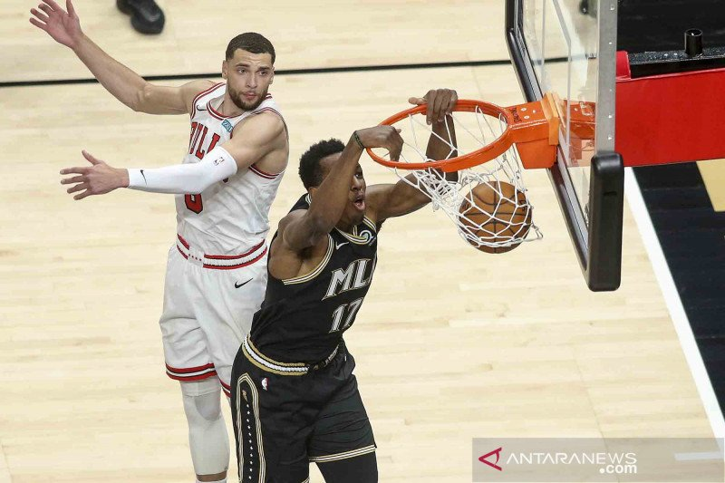 NBA: Atlanta Hawks tundukan Chicago Bulls 120-108