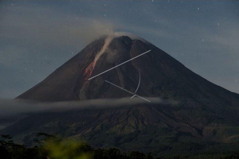 Volume kubah lava Merapi mencapai 1 juta meter kubik lebih