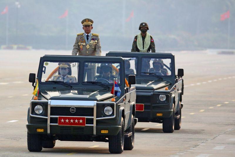 Rusia-Myanmar perkuat hubungan militer saat kunjungan junta