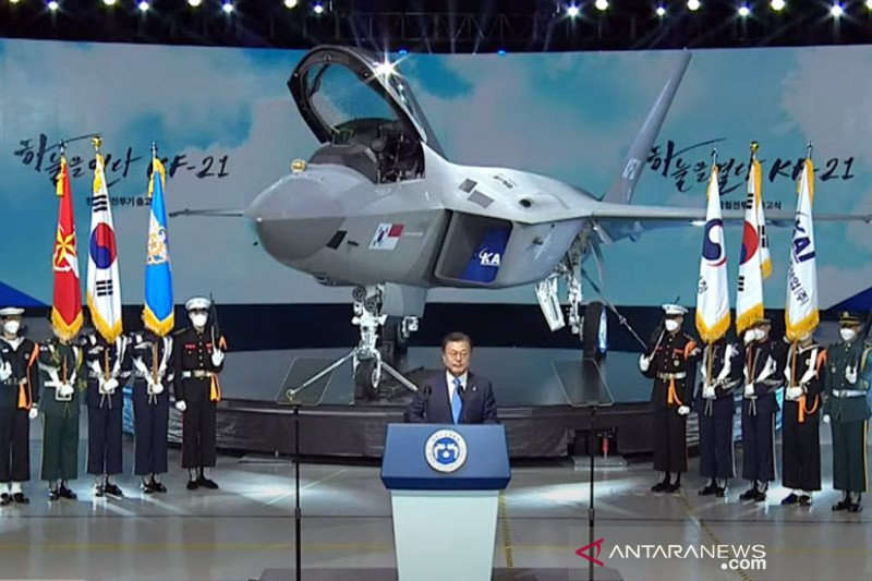 Jelang peluncuran pesawat KFX/IFX, Prabowo temui Presiden Moon