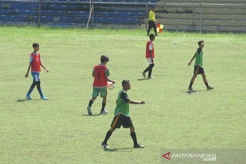 Seratusan pesepak bola muda ikuti seleksi timnas di Aceh