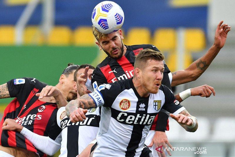 Liga Italia: AC Milan kalahkan Parma 3-1
