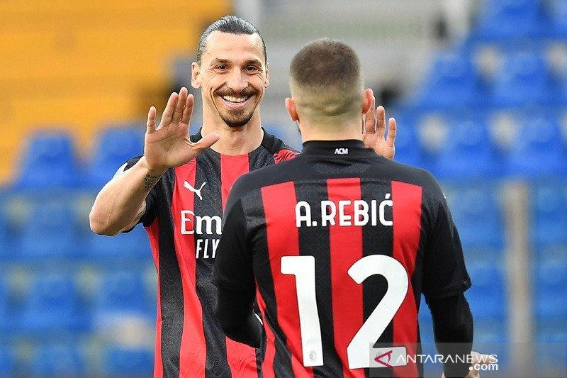 Klasemen Liga Italia setelah Milan perkecil jarak dari puncak