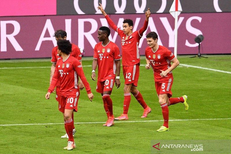Hansi Flick puji kontribusi pemain muda walau Bayern diimbangi Union