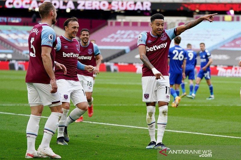 Lingard semakin cemerlang saat bantu West Ham taklukkan Leicester