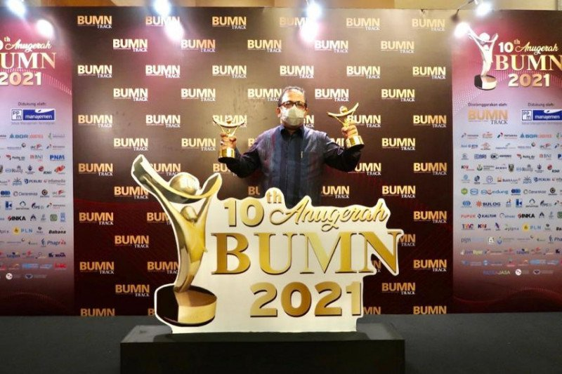 PP raih dua kategori penghargaan Anugrah BUMN