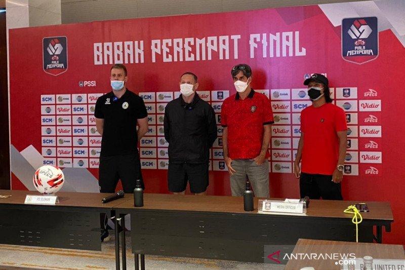 Pelatih Bali United yakin timnya lebih prima untuk hadapi PSS