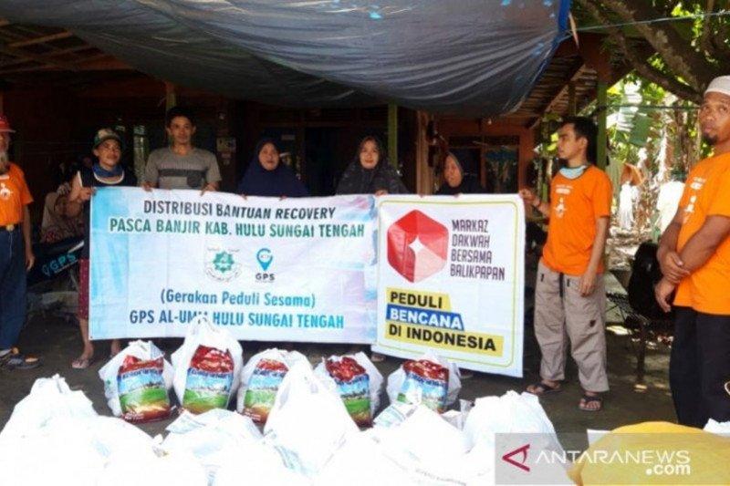 Al Umm Hulu Sungai Tengah bagikan 850 paket sembako jelang Ramadhan