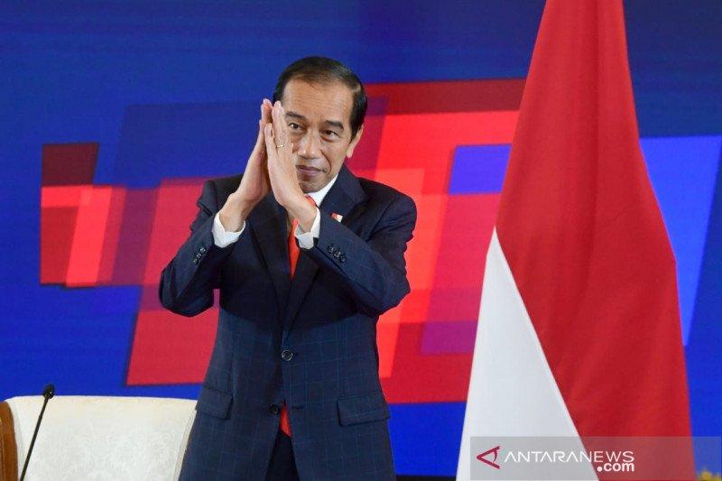 Presiden Jokowi dan Kanselir Jerman buka ajang Hannover Messe 2021