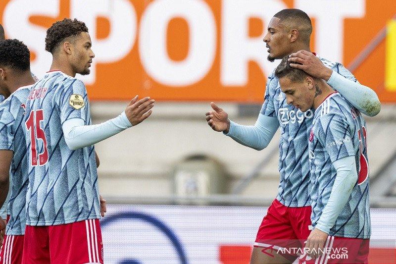 Klasemen Liga Belanda: dua kemenangan lagi Ajax juara
