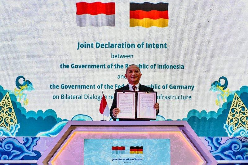 RI-Jerman berkomitmen perkuat kemitraan Infrastruktur mutu
