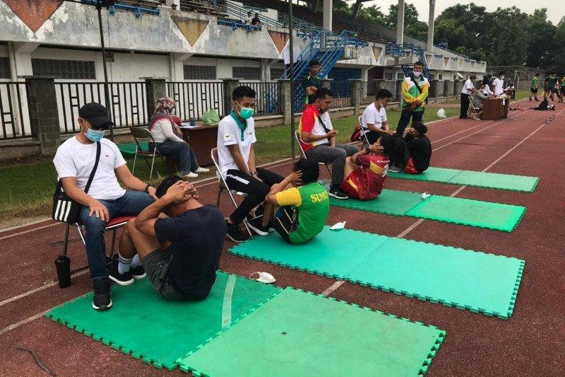 Sebanyak 172 atlet Pelatda Sumut jalani tes fisik hadapi PON di Papua