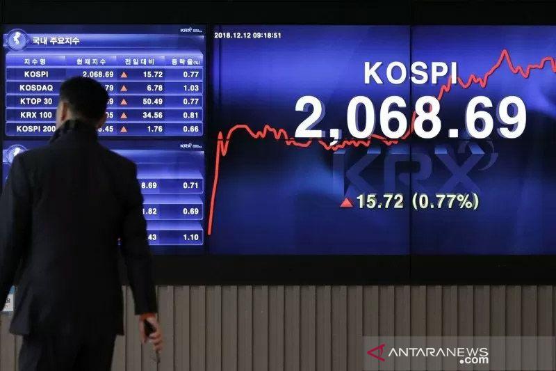 """Saham Korea Selatan """"rebound"""", terdongkrak pembelian ritel investor"""