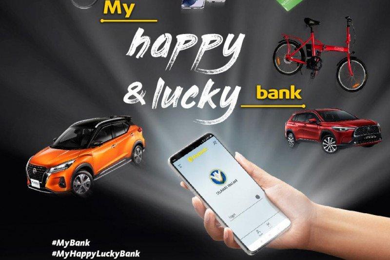 Maybank tawarkan My Happy & Lucky Bank bagi masyarakat dan nasabah