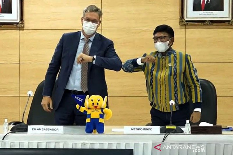 Indonesia bahas teknologi 5G dengan Uni Eropa