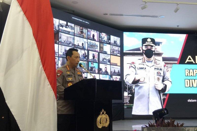 Kapolri terima pengaduan langsung masyarakat lewat WA