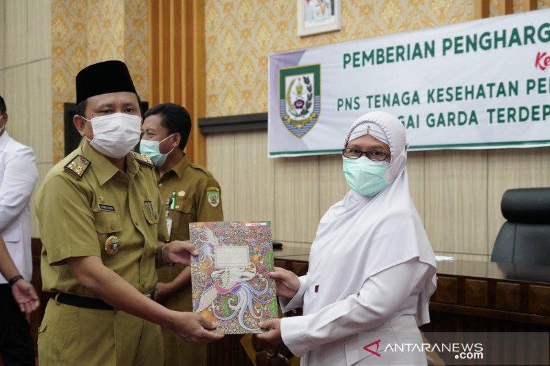 Pemprov Bengkulu beri kenaikan pangkat bagi 56 nakes COVID-19