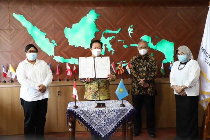 Perpusnas jalin kerja sama dengan Perpustakaan Akademik Kazakhstan