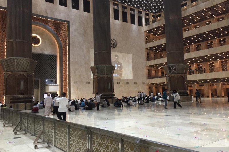 Ramadhan lagi di Istiqlal