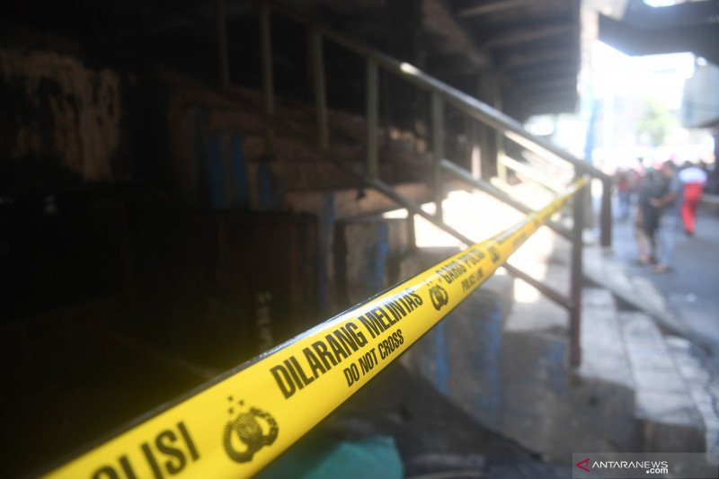 DKI cari solusi penampungan bagi pedagang korban kebakaran
