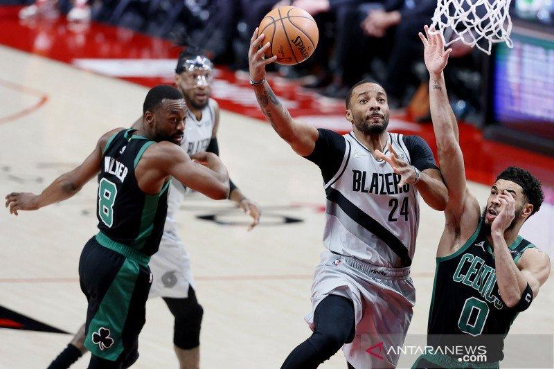 NBA : Portland Trail Blazers vs Boston Celtics