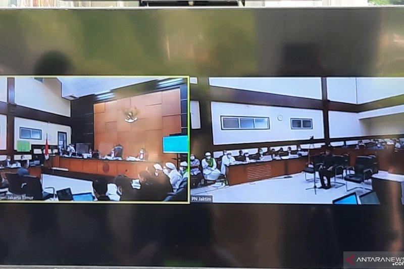 PN Jaktim agendakan sidang pemeriksaan saksi kasus Rizieq Shihab
