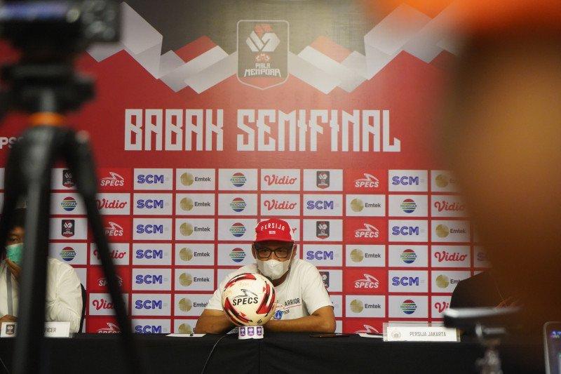 Pelatih Persija: Lawan PSM Makassar, mental lebih menentukan